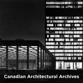 Go to Canadian Architectural Archives