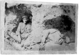 Unknown Officer's Trench Photograph Album