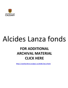 Alcides Lanza fonds.