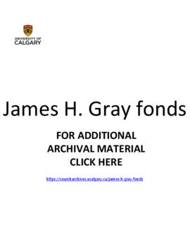 James H. Gray fonds.