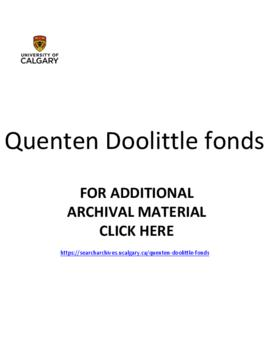 Quenten Doolittle fonds.