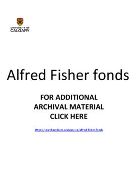 Alfred Fisher fonds.