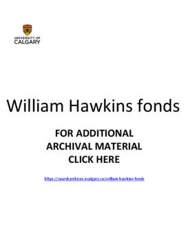 William Hawkins fonds.